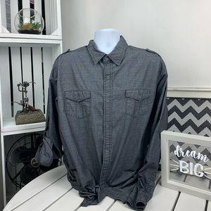 Pd & C Men's long sleeves shirt XXL.